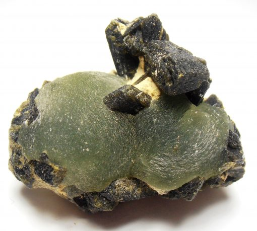 Prehnite Formations with Epidote from the Kayes Region