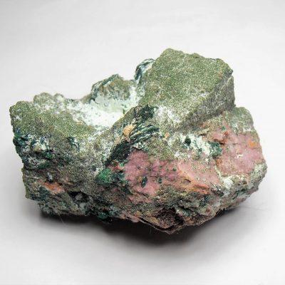 Cobaltoan Dolomite/Conichalcite/Malachite - Mashamba West Mine