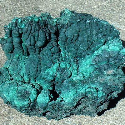 Malachite - Large Stalactite/Stalagmite Formation, Mindigi Mine