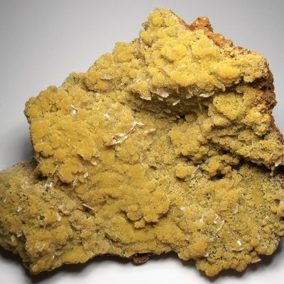Mimetite - Large Crystal Covered Plate from the Ojuela Mine in Mapimi