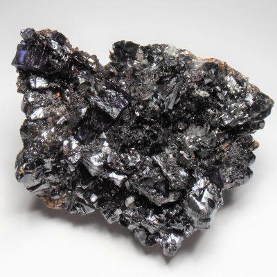 Sphalerite Crystal Plate with Fluorites - Elmwood Mine