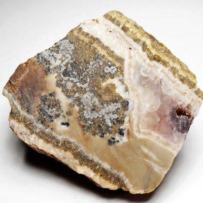 Silver in Dolomite Slab - Alhambra Mine, New Mexico