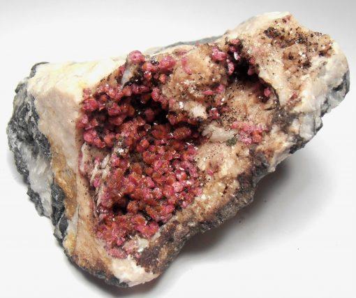 Roselite Crystals from Aghbar, Tazenakht