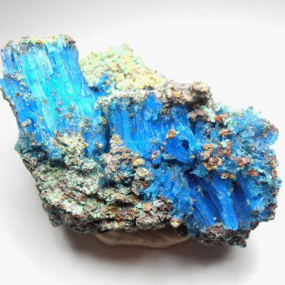 Chalcanthite - from the Planet Mine, 350 level, Arizona