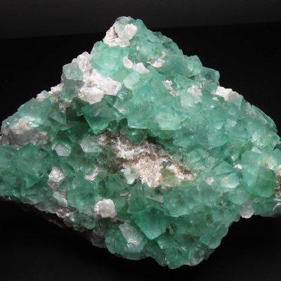 Fluorite - Translucent Green Octahedral Crystals from Riemvasmaak